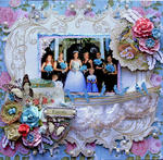 Family **SCRAPS OF ELEGANCE** *November Kit-Je t'aime*
