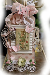 Fly Shabby Chic Tag **SCRAPS OF ELEGANCE** May Kit-Yesterdays