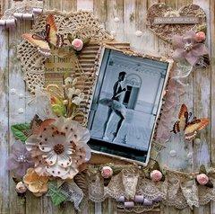 Follow Your Heart *Tresors De Luxe* *Scraps Of Elegance* February Kit~Love Always