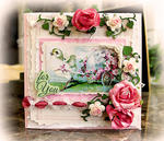 For You Easter Card **SCRAPS OF ELEGANCE** March Kit-Spring's Promise
