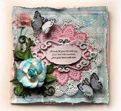 Friends Fill Your Heart Card **SCRAPS OF ELEGANCE** SOD/SOE CARD CHALLENGE