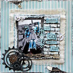 Go With All Your Heart **SCRAPS OF ELEGANCE** May Kit- Swan Song