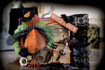Halloween Mini Album **SCRAPS OF DARKNESS** October Kit-Morticia's Wish