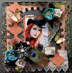 Hello Gorgeous!! *Scraps Of Darkness* January Kit~Style & Sophistication