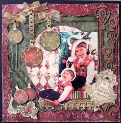 Holly Jolly Christmas-Swirlydoos December Kit