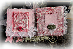 Smitten Mini Album *Scraps Of Elegance* February Kit~Love Always