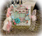 Ice Cream Parlor Mini Album **Scraps of Elegance** August Kit~Sweet Summer Nights