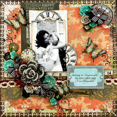 I'm Possible **SCRAPS OF DARKNESS** February Kit-Simple Pleasures