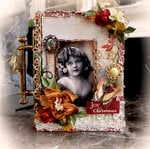 Joy Of Christmas Nook Book Box *Scraps Of Elegance* December Kit~Mistletoe Memories