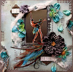 Life~Beauty **SCRAPS OF DARKNESS** June Kit-Firecracker