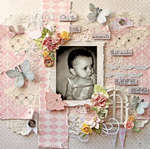 Make Life Big **SCRAPS OF ELEGANCE** August Kit-Summer Haven