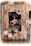 Moments In Time Altered Book Box **SCRAPS OF ELEGANCE** *November Kit-Je t'aime*
