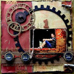 My Story My Life **Scraps Of Darkness* August Kit~Rustic