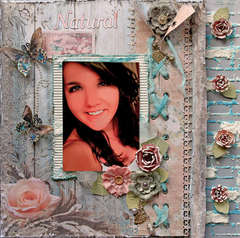 Natural Beauty **SCRAPS OF ELEGANCE** June Kit Country Charm