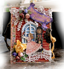 Nutcracker Christmas Nook Book Box **Tresors De Luxe Etsy**