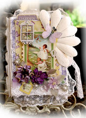 Secret Garden Nook Book **SCRAPS OF ELEGANCE**  March Kit-Spring's Promise