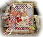 Country Kitchen Recipe Book **Scraps Of Darkness** August Kit~Rustic