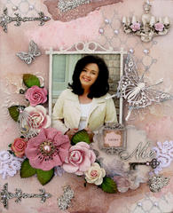 Lucky Me Canvas **SCRAPMATTS** **SCRAPS OF ELEGANCE**