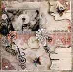New Beginning **SCRAPMATTS** **SCRAPS OF ELEGANCE**