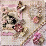Seeds **SCRAPS OF ELEGANCE** March Kit- Butterfly Dreams
