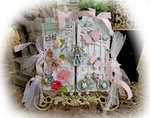 Shabby Chic Mini Album **Scraps Of Elegance** September Kit~Simply Shabby Chic