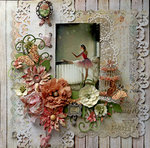 Shadow & Light **SCRAPS OF ELEGANCE** May Kit-Yesterdays