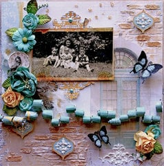 She Was Love **Scraps Of Elegance** October Kit~Rue Des Rosiers