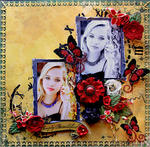 Simply Beautiful **SCRAPS OF DARKNESS** November Kit-Karma