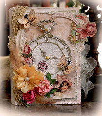 The Little Things Altered Book Box **Scraps Of Elegance** * Scrapmatts Chipboard*
