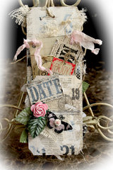 Today Memory Pocket *Scraps Of Elegance* February Kit~Love Always