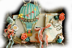Up And Away Mini Album **SCRAPMATTS** **SCRAPS OF ELEGANCE**