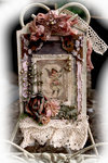 Victorian Christmas Card **Scrapmatts Chipboard**