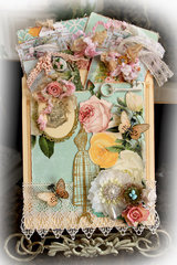 Collecting Memories Pocket Journal *Tresors De Luxe* *Scraps Of Elegance*