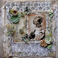 Vintage Sweetness *Scraps Of Elegance* June Kit~Timeless