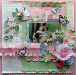 Vintage Tea Party *Scraps Of Elegance* March Kit~Floral Fantasy