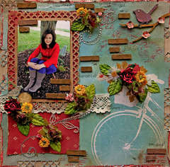 Where I Intended To Be **SCRAPS OF DARKNESS** April Kit- Sakurabana