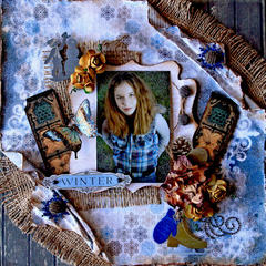 Winter **SCRAPS OF DARKNESS** December Kit-A Long December