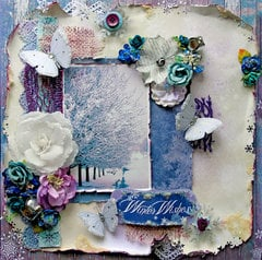 Winter Wishes *Scraps Of Darkness* December Kit~Northern Lights