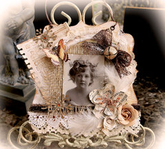 Winter Wishes Christmas Card **Scraps Of Darkness** October Kit~Gothic