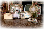 Winter Wishes Memory Box & Gift Set **SCRAPS OF ELEGANCE** December Kit-Winter Wishes
