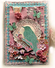 You Are Beautiful Altered Memory Book Box **SCRAPS OF ELEGANCE** April Kit Awakening