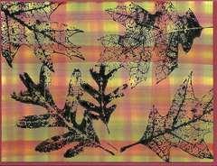 Autumn Blessing plaid card