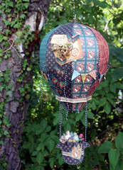 Steampunk Debutante balloon
