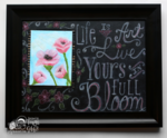 Bloom Chalkboard