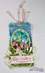 Mixed Media Easter Tag