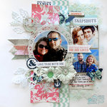 Mixed Media - Family Stories Layout