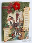 Graphic 45 Christmas Emporium Card