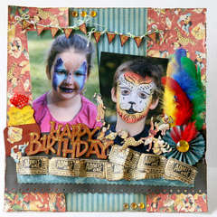 Paty anniversaire du Cirque