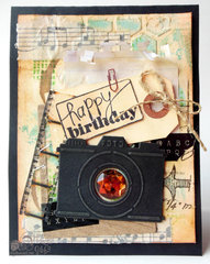 Mixed Media Masculine Birthday card