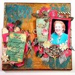 Grandmother Mixed media Canvas